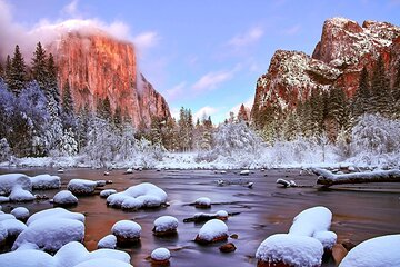 Yosemite Valley Private Winter Hiking Tour