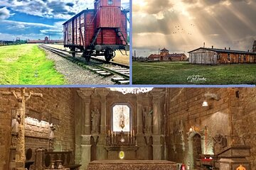Auschwitz Birkenau Museum and Salt Mine All Inclusive DAY TRIP with Local Guides