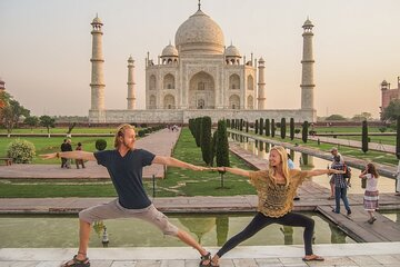 Same Day Exotic Taj Mahal Tour By Car