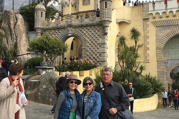 Sintra Day Tour: Pena Palace, Regaleira Palace and Cascais in Private Tour