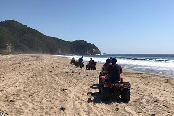 ATV Private Guided Tour in Manzanillo Mountains and Beaches