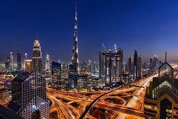 Private Panoramic Dubai City Night View Tour