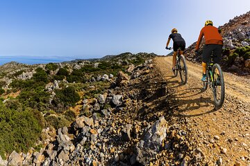 3 Hour Electric Mountain Bike Ride from Vitrolles