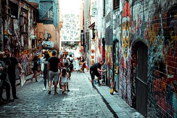Private city game Street Art of Melbourne