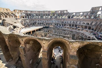 Private tour Colosseum Underground and Ancient Rome
