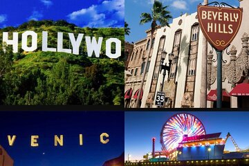 Shared 8 hours Los Angeles City Sightseeing Tour from Long Beach