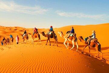 Private 3 Days Tour to Fes via Merzouga Desert and Camel Trek from Marrakech