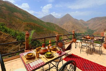 Private Day trip to the three valleys and Atlas Mountains from Marrakech