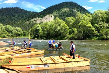 Rafting on the Dunajec River Private transport