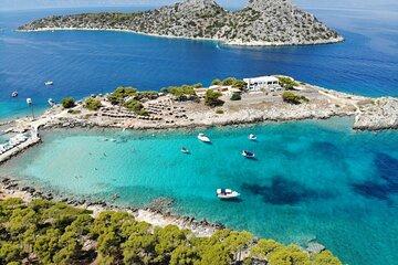 Daily Cruise Adventure to Saronic Gulf Islands : Agistri, Moni and Aegina