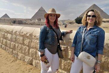 Save 8.00%! Full-Day Tour Giza Pyramids ,Sphinx ,Memphis and Saqqara from Cairo