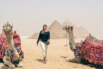 Save 20.00%! Private Tour Giza Pyramids Sphinx Memphis old city Sakkara step pyramids
