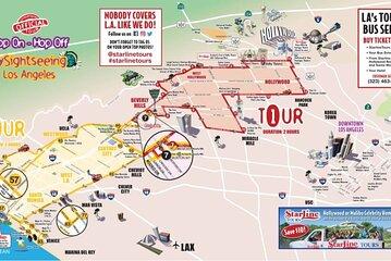 Los Angeles Hop-On Hop-Off Double-Decker Bus Tour