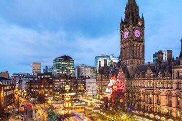 Manchester Christmas Market walking tour with Mandarin speaking guide