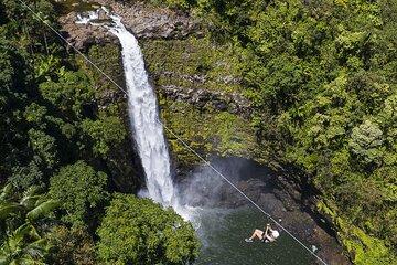 Hilo Zipline over KoleKole Falls