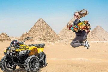 Save 20.00%! Private Tour Giza Pyramids, Sphinx, Lunch, camel ,shopping tour & Quad bike Ride