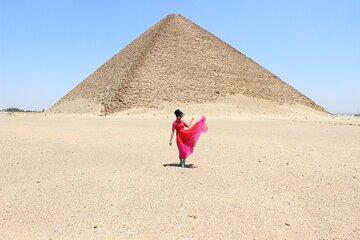 Save 10.00%! Dahshur 2 pyramids ,Sakkara step pyramids Memphis old city day tour from Cairo
