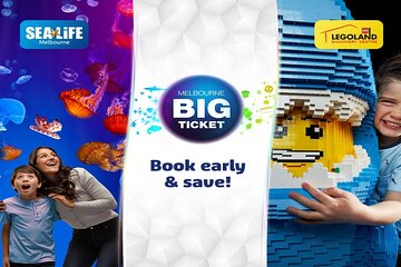 Melbourne BIG Ticket - LEGOLAND Discovery and SEA LIFE Melbourne