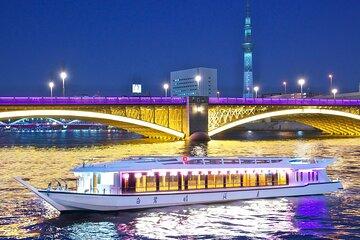 Cruise Around Odaiba, Sumidagawa and Tokyo Tower! (Weekday nights)