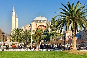 Hagia Sophia and Topkapi Palace Half Day Tour