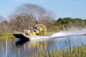 90-min Everglades Airboat Tour in Central Florida