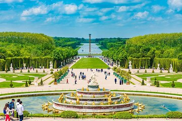 Skip-the-Line Versailles and Gardens Ticket with Self-Guided Audio
