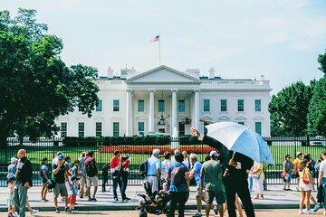 Washington DC Sightseeing Tour with Photo Stops & Seasonal Potomac River Cruise