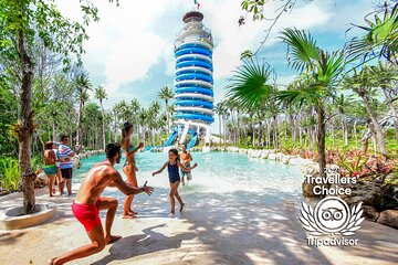 Priority Access: Xel-Há All-Inclusive Day Trip with Transportation