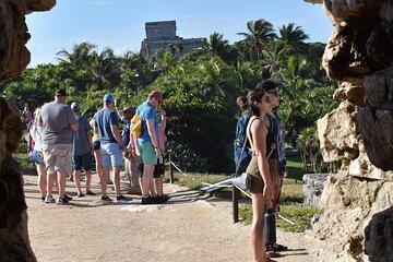 4x1 Tulum, Cobá, Cenote & Playa del Carmen Small Group