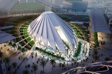 Expo 2020 Dubai 1 Day Pass with One Way Transfer