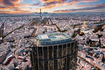 Paris Montparnasse Top of the City Observation Deck Skip the Line Entry Ticket