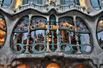 Skip the line to Casa Batlló and Self-Guided Tour in Paseo de Gracia