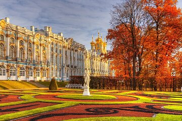 1-Day St Petersburg Private Catherine Palace with Amber Room & Park
