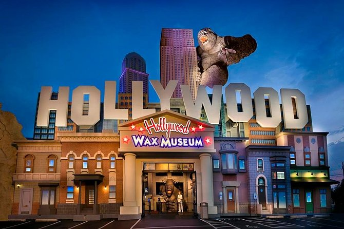 Branson Hollywood Wax Museum Entertainment Center All Access Pass