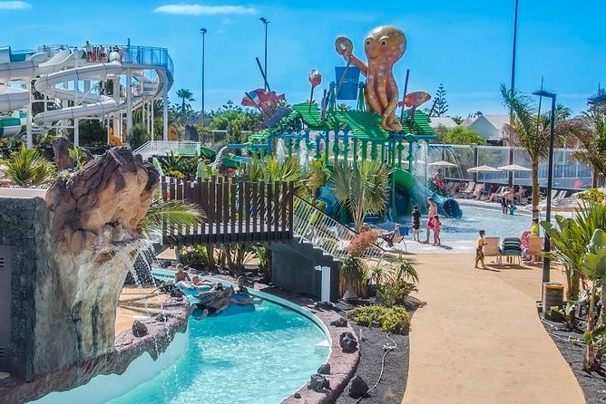 Skip the Line: Aqualava Waterpark Lanzarote Entrance Ticket