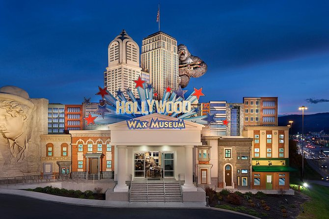 Hollywood Wax Museum Admission Ticket in Pigeon Forge