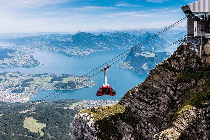 Mt Pilatus Self-Guided Tour from Kriens or Alpnachstad