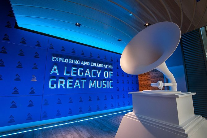 Entrance to GRAMMY Museum® Exhibits