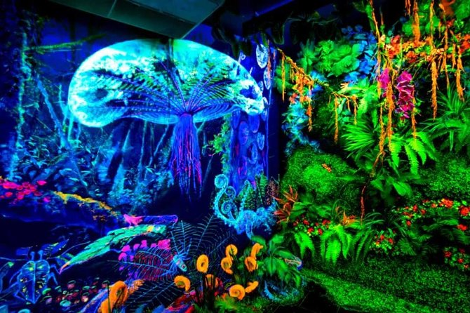 Admission Ticket for Dark Mansion Glow-in-the-Dark Museum in Penang