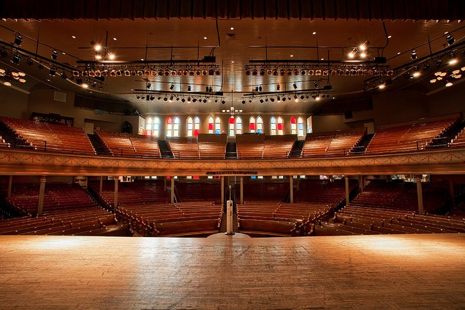 Ryman Auditorium Schedule 2019 Ryman Auditorium Self Guided Tour 2019   Nashville