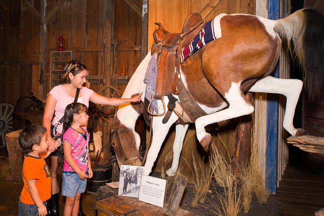 The Buckhorn Museum and the Texas Ranger Museum are located under one roof.