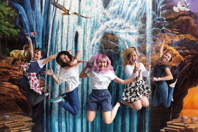 30-ft Waterfalls Painting Jump Shot