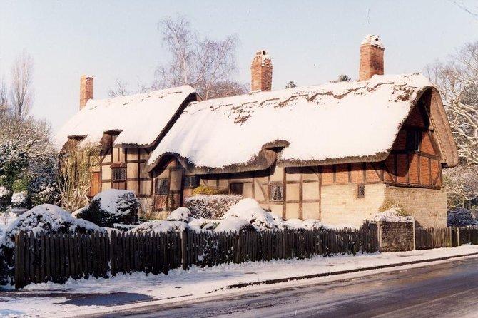 Shakespeares födelseplats: 'Winter 4 House' i Stratford-Upon-Avon