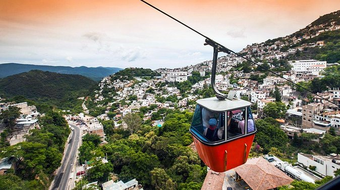 Round Trip Cable Car in Taxco Teleférico