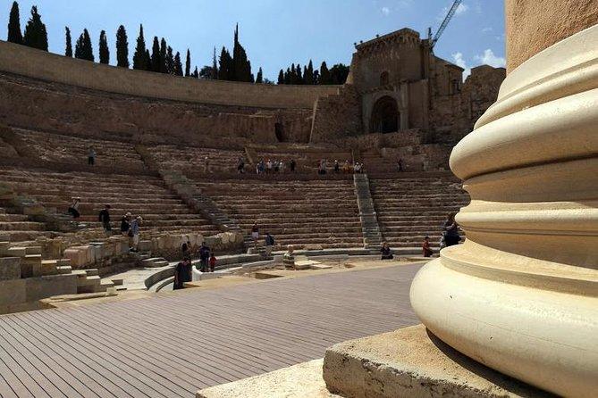 Visita a pie Histórica Romana privada por Cartagena