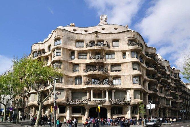 Barcelona och konstnärlig Gaudí: hel dags guidad promenad och buss sightseeingtur