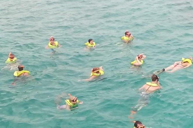 Catamaran Chillin Cruise Snorkel Tour Montego Bay To Negril Rick's Cafe