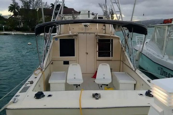 3 Hour Montego Bay Private Deep Drop Fishing Boat Rental Jamaica Inshore