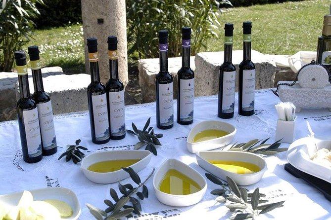 Olivenöl und Weinprobe aus Split