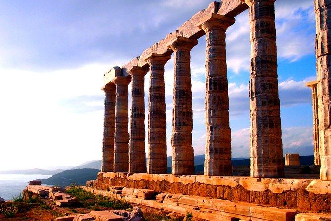 Tour privado del Templo de Poseidón en Sounio desde Atenas